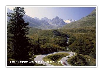 Silvretta-Hochalpenstraße, Paznauntal, Tirol, Österreich