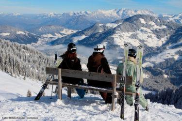 Skifahren im Wochenendurlaub