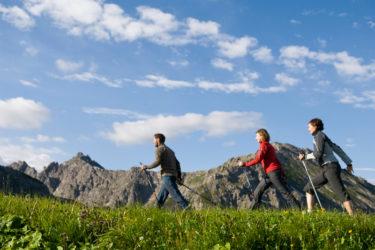 Nordic Walking im Wellness-Urlaub