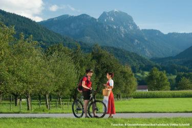 Bergwandern und Mountainbiken in Bayern