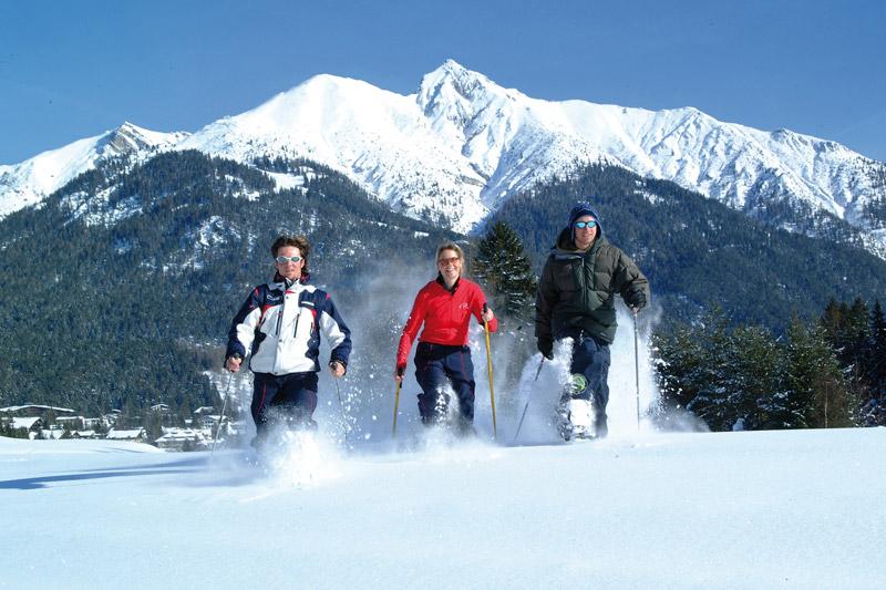 Schneeschuhwandern in Seefeld