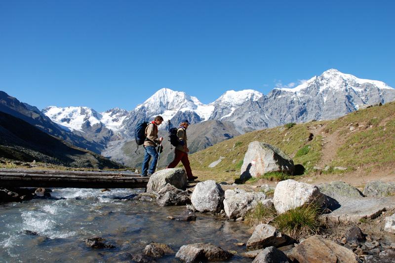 Wandern am Ortler im Nationalpark Stilfserjoch