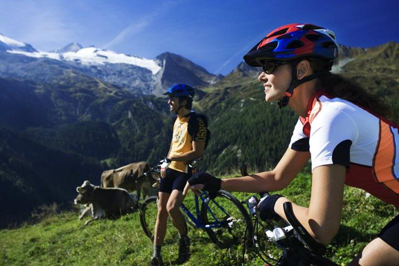 Mountainbike-Touren auf Almen und Hütten