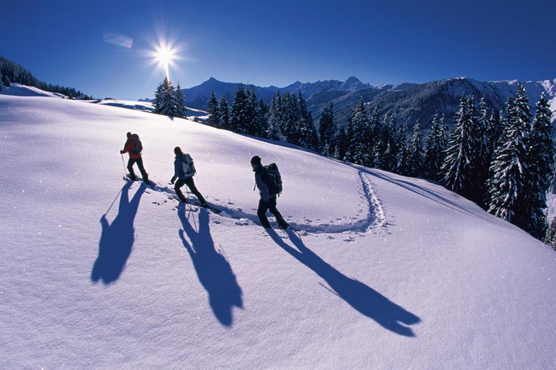 Geführte Schneeschuhwanderungen im Zillertal