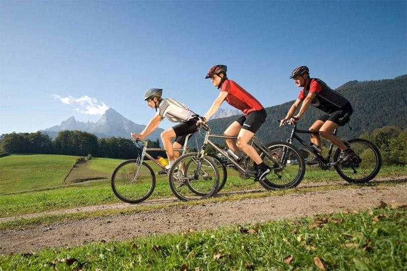 Biken am Watzmann