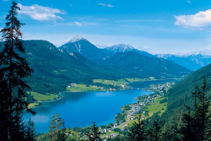 Der Weissensee in Kärnten