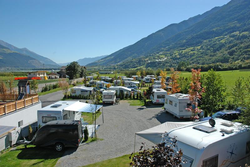 Campingurlaub im Vinschgau in Südtirol