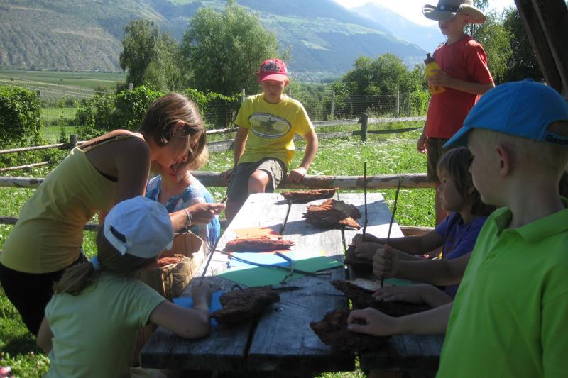 Kinderanimation in Südtirol