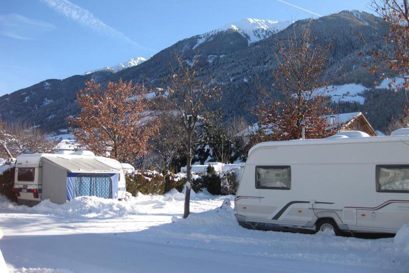 Wintercamping im Vinschgau/ Südtirol