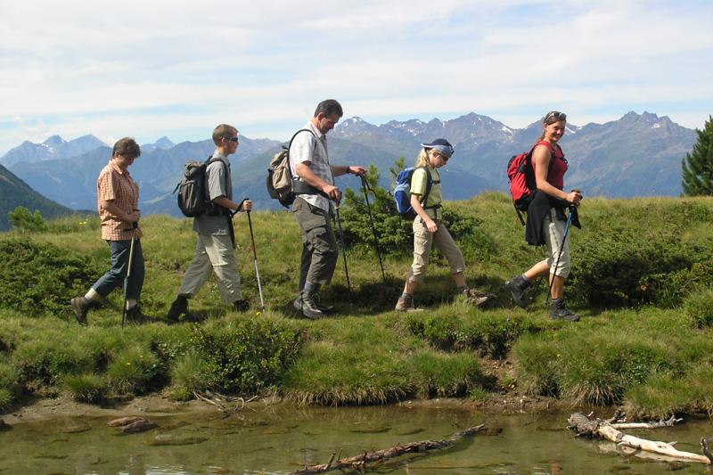 Geführte Wanderung im Pitztal in Tirol