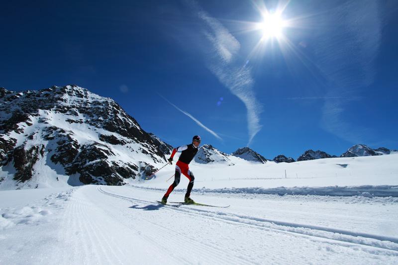 Langlaufen Pitztaler Gletscher