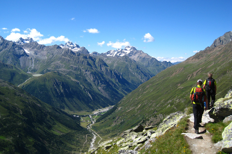 Wandergebiet Pitztaler Gletscher