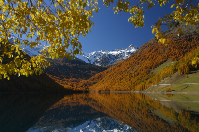 Herbsturlaub im Schnalstal