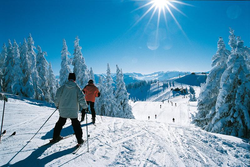 Skigebiet in der Skiwelt Wilder Kaiser