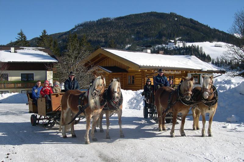 Pferdekutschfahrt im Salzburger Land
