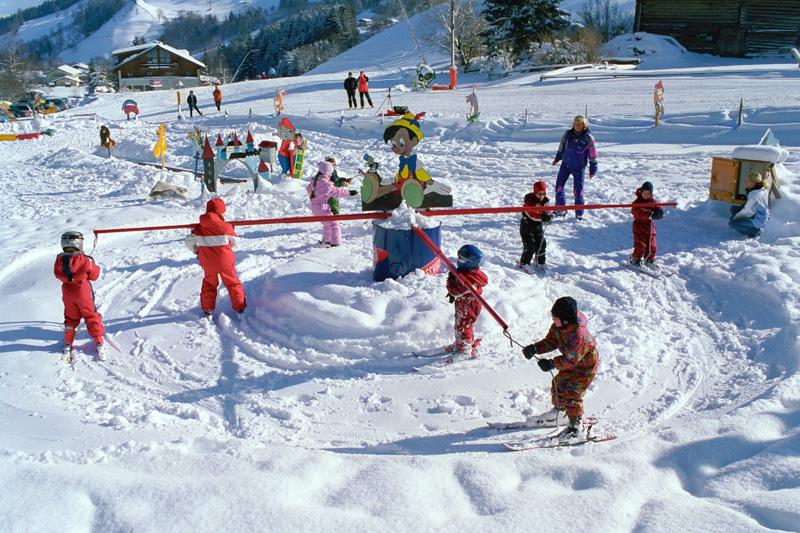 Skikindergarten in Forstau