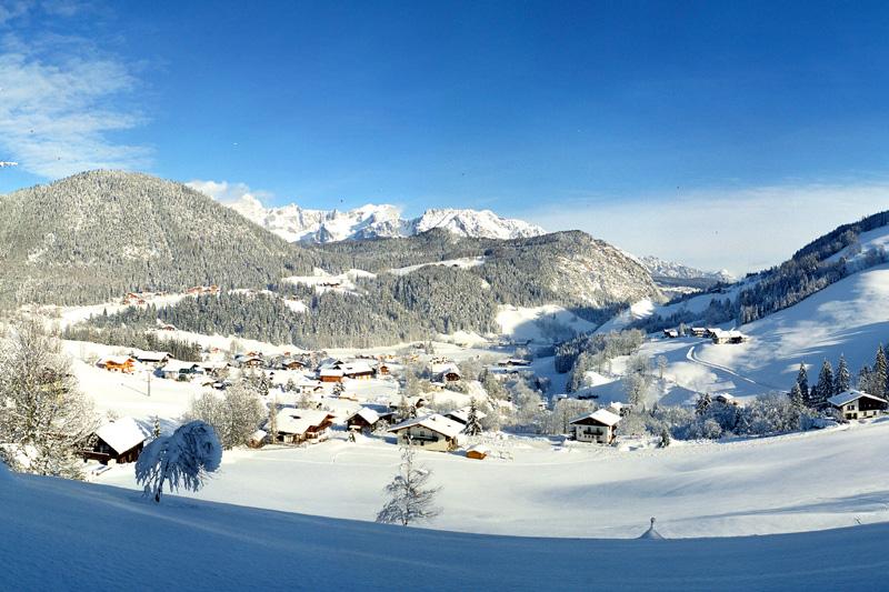 Winterurlaub in Forstau im Salzburger Land