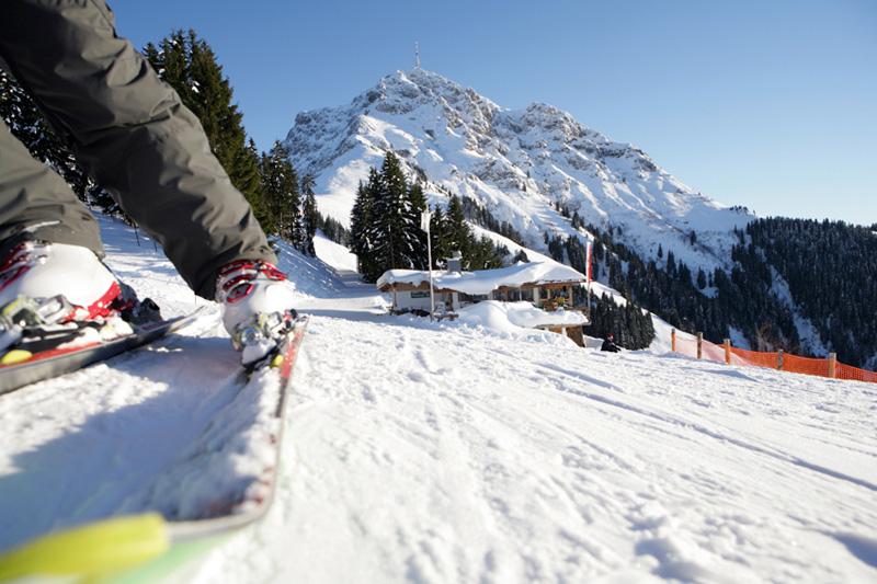 Die Abfahrt Oberndorf in den Kitzbüheler Alpen - Tirol