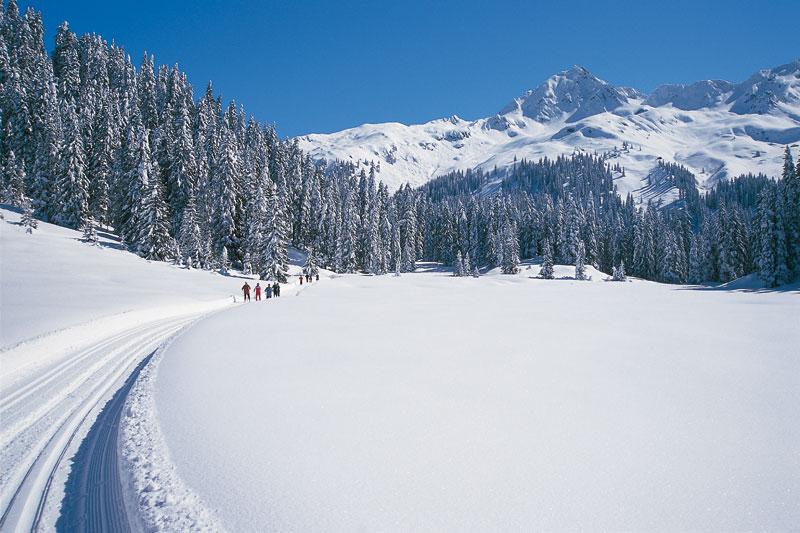 Langlaufen im Silbertal/ Montafon