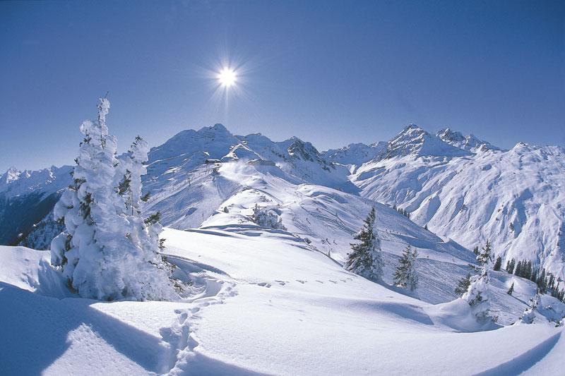 Skigebiet Silvretta-Montafon