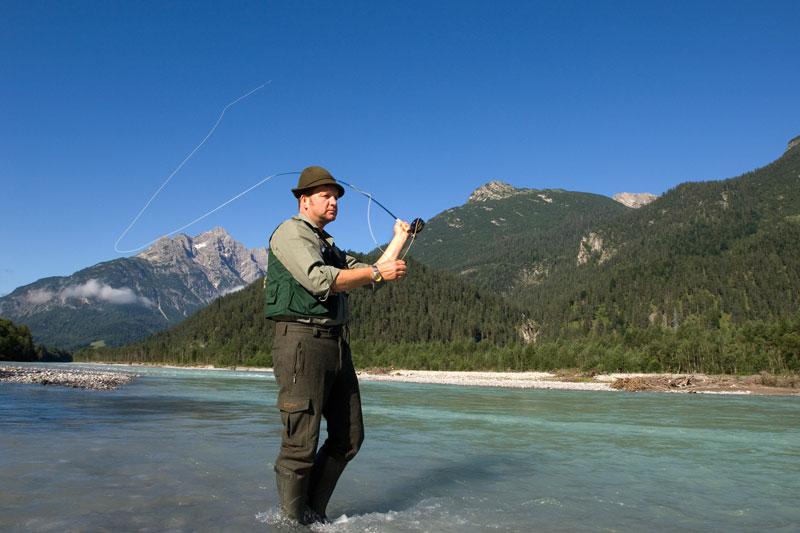 Angeln und Fischen im Lechtal