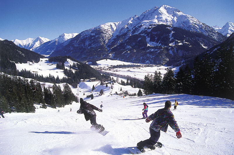 Skiurlaub im Lechtal in Tirol - Österreich