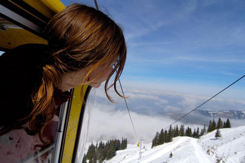 Blick aus der Hochgratbahn Oberstaufen
