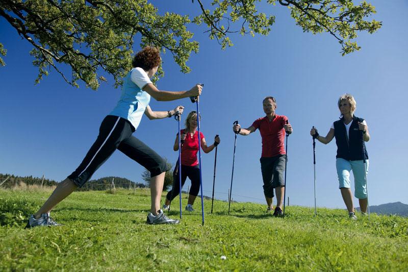 Nordic Walking Park mit 12 Routen
