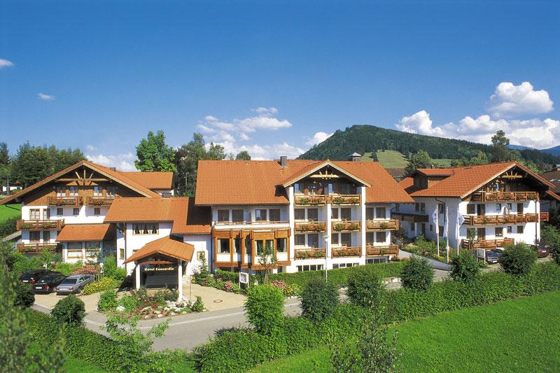 Sommerurlaub im Concordia Wellnesshotel & SPA