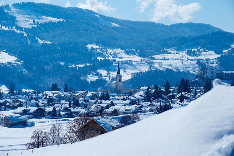 Winterurlaub in Oberstaufen