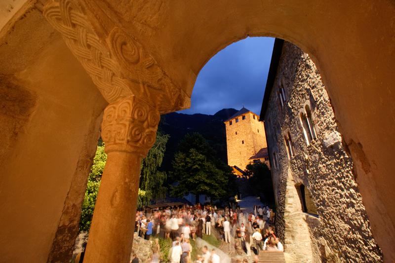 Rittersaahl von Schloss Tirol