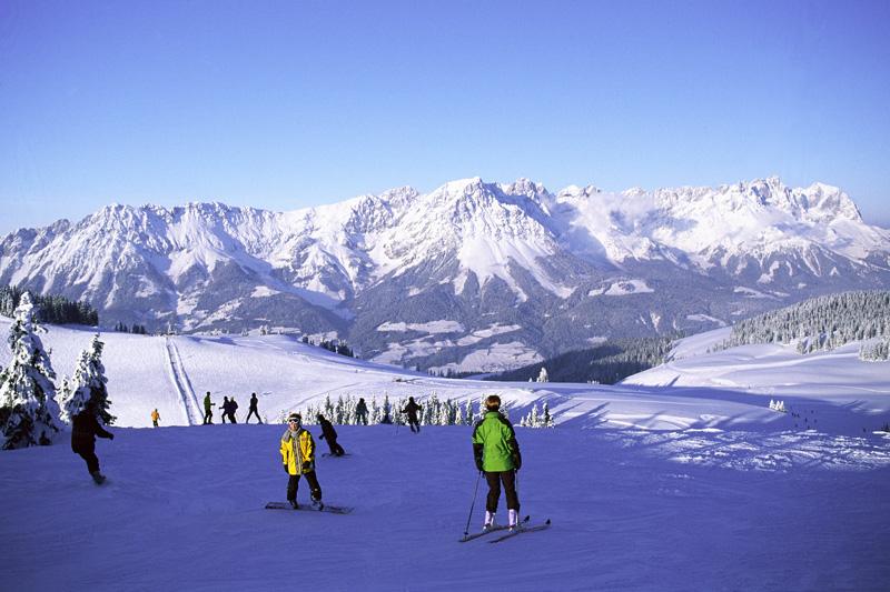 Skieurlaub im Skigebiet Wilder Kaiser - Brixental in Österreich