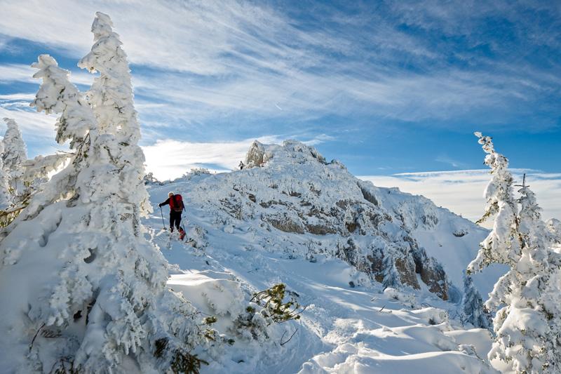Winterwandern am Wendelstein