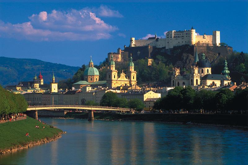 Ausflug nach Salzburg (1 Std. entfernt)