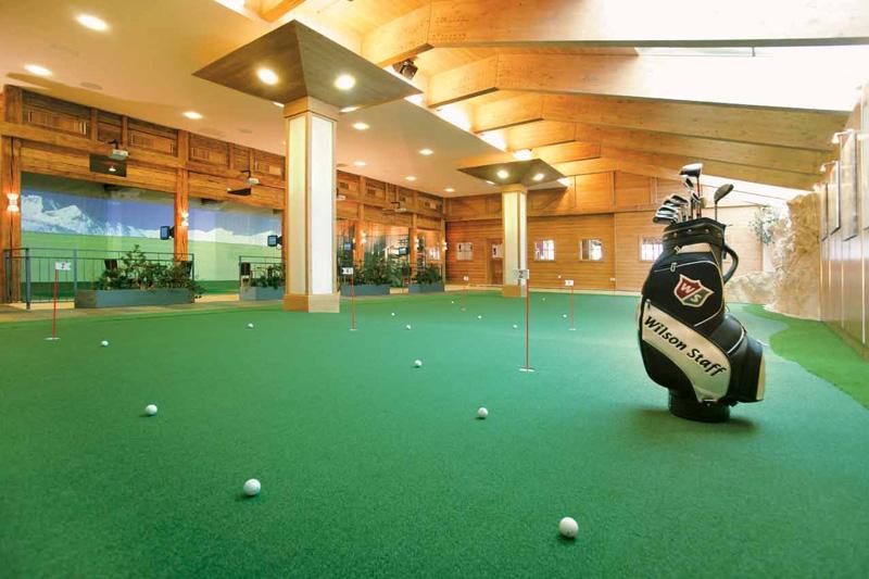 Golf-Indooranlage