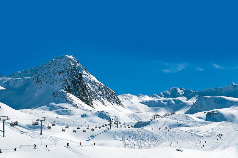 Skigebiet Wurmkogl-Hochgurgl