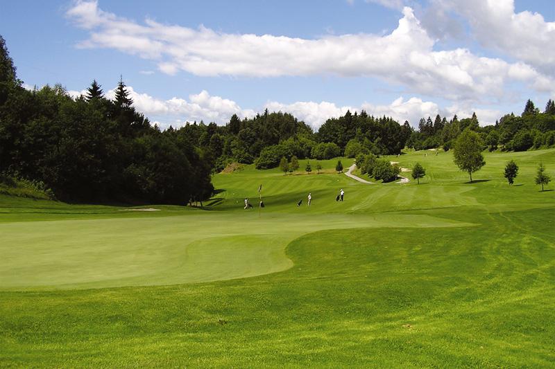 Golfplatz in Velden