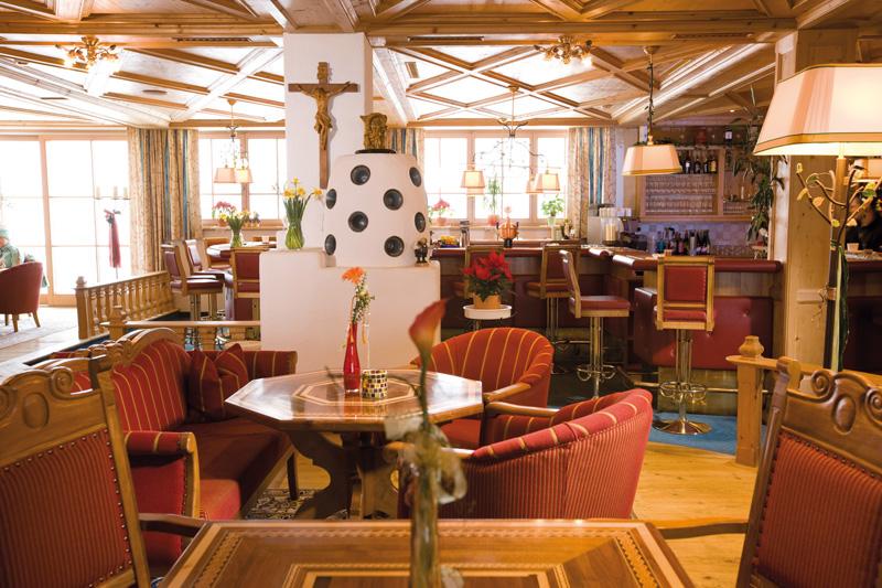Wirlerhof Lounge mit Bar