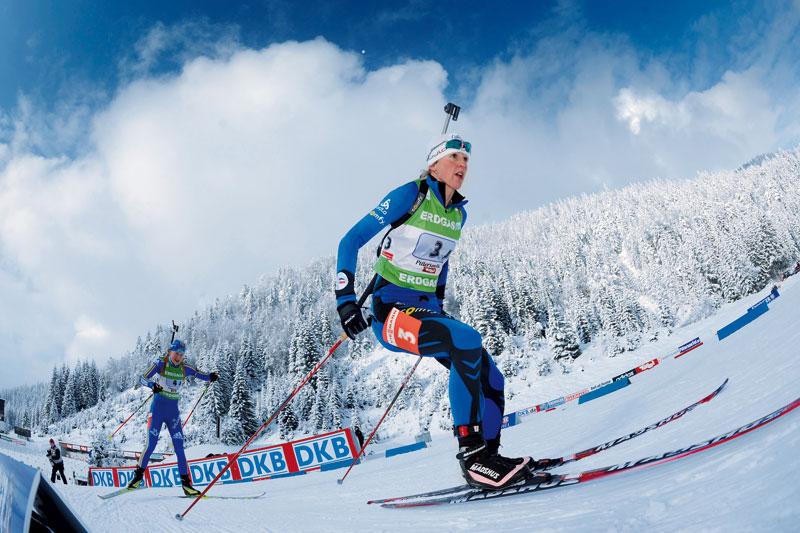 Biathlon in Hochfilzen