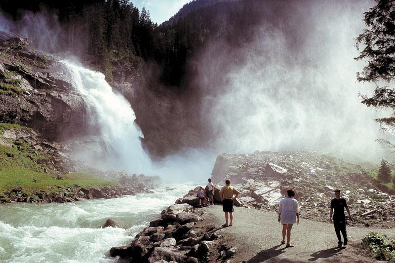 Krimmler Wasserfälle im Nationalpark Hohe Tauern