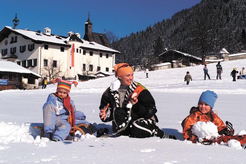 Familienurlaub in Maishofen