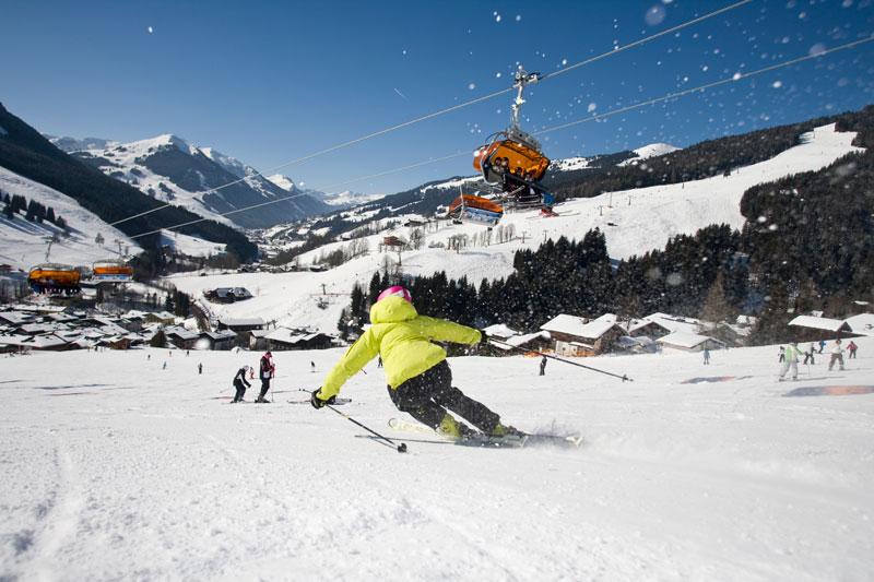 Skigebiet Saalbach Hinterglemm-Leogang-Fieberbrunn