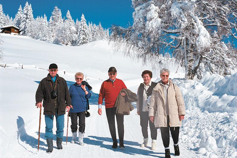 Winterwandern im Salzburger Land