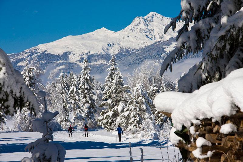 Langlaufen in der Naturarena Kärnten