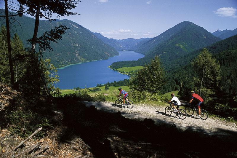 Mountainbiken rund um den Weissensee