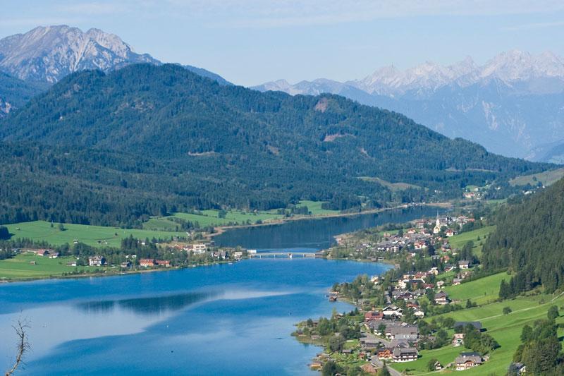 Sommerurlaub am Weissensee