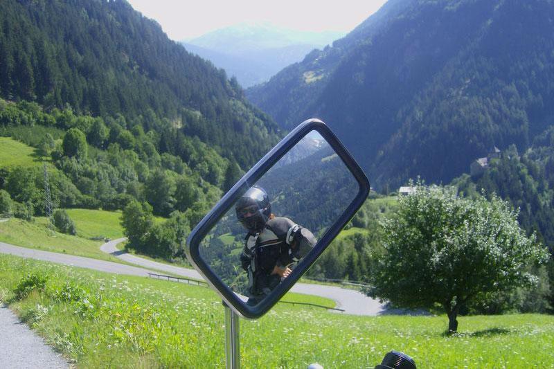 Motorradtour durch das Tannheimer Tal