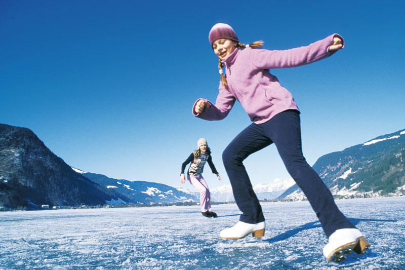 Eislaufen Zell am See