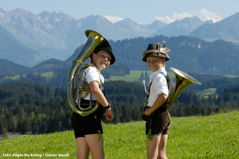 Sommerurlaub in Bayern