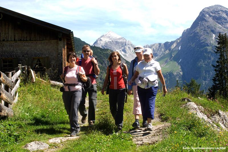 Geführte Wanderung im Naturpark Lechtal